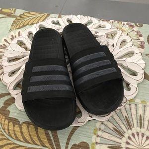 Adidas Slip On Sandals Shoes Men's 10